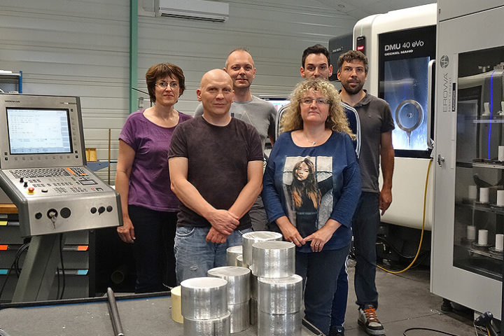 Meca-Innov, atelier robotisé par EROWA