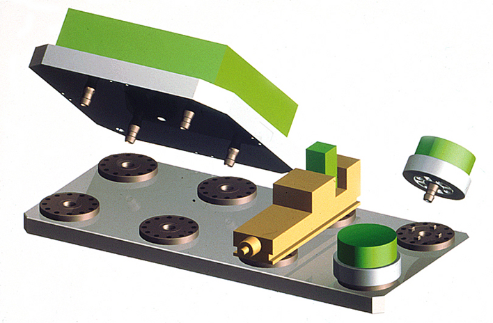 Optimisation table machine avec mandrins MTS