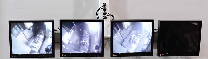 Une vingtaine de caméras permettent de visualiser et d'enregistrer le fonctionnement de tous les équipements de l'atelier 4.0