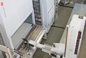 Une cellule hautement automatisée pour une efficacité en production optimisée