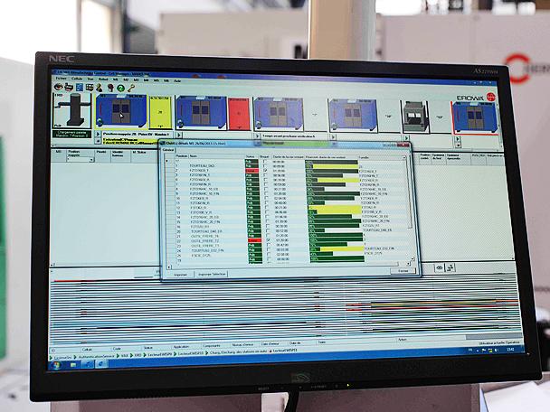 Le logiciel Erowa Manufacturing Control permet de visualiser la disponibilité des machines et gérer la durée de vie des outils en un seul clic.