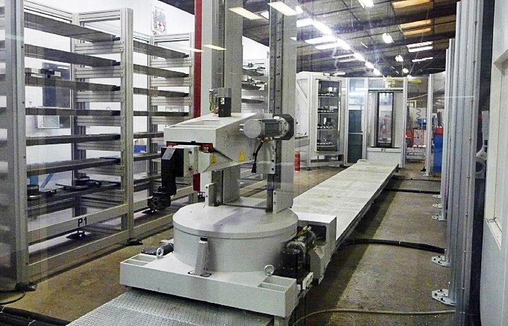 Le Robot sur rails décuple le potentiel de performance du sous-traitant MGA