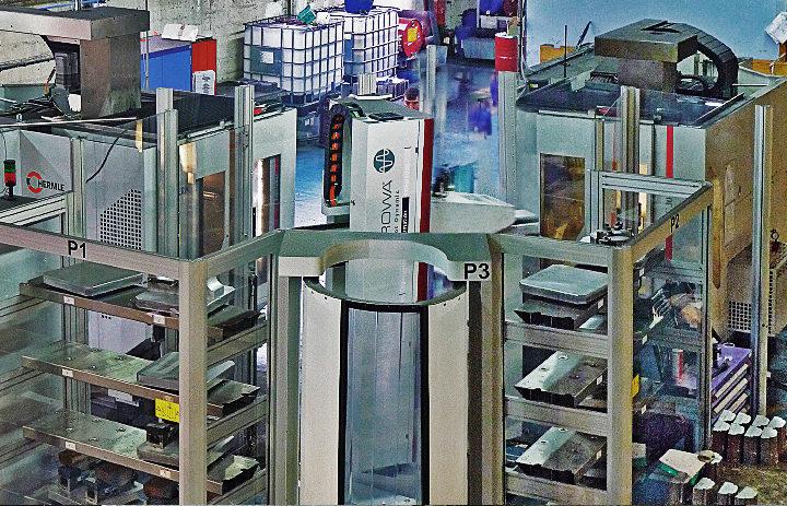 BMV change son modèle économique avec un robot multimachine EROWA