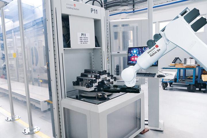 atelier automatisé en une