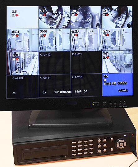 atelier automatisé - poste de surveillance