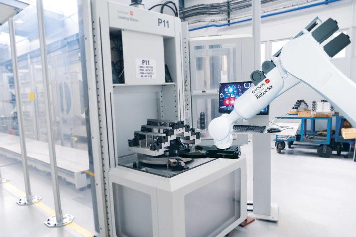 Actualité - Environnement 4.0 - Robot six