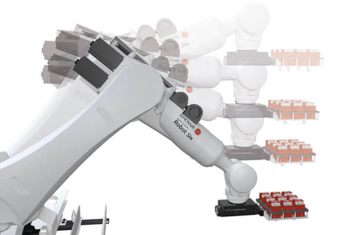 Robot six simplifie l'organisation de l'atelier