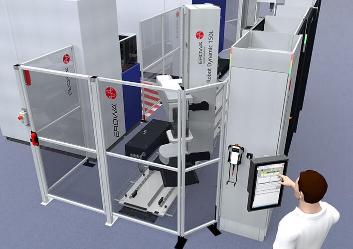 Robot ERD 150 - Vue d'ensemble
