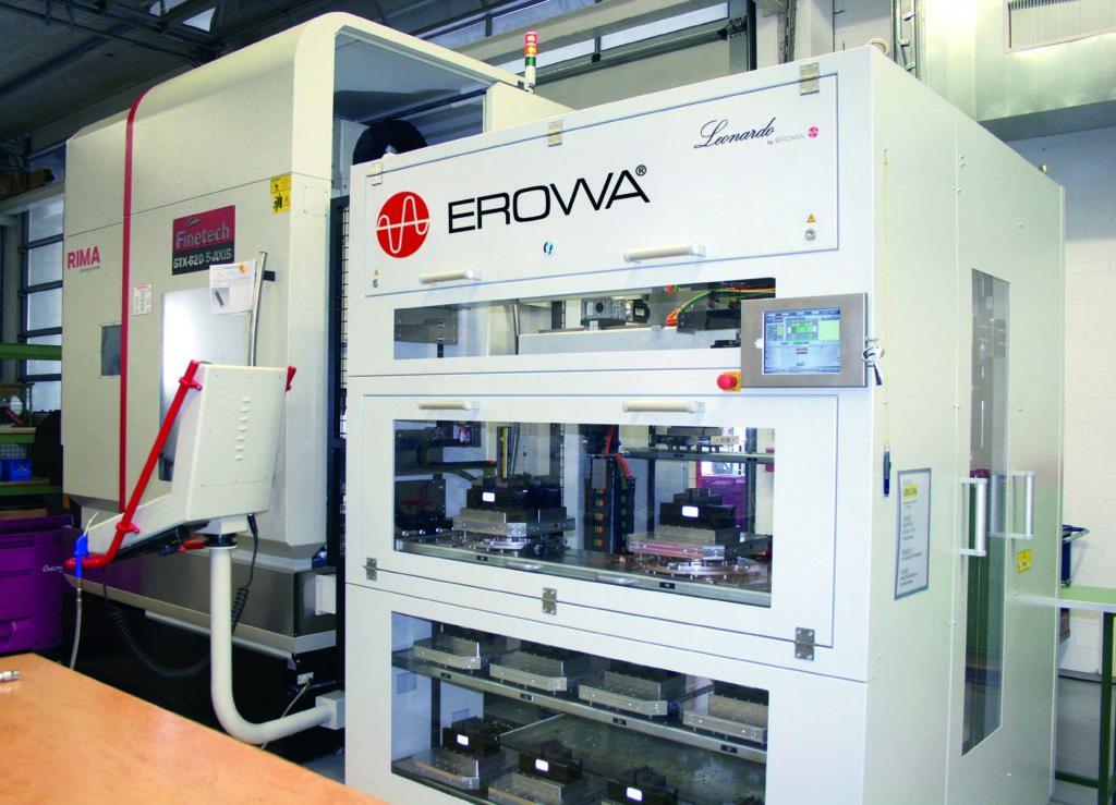 Robot Leonardo Erowa