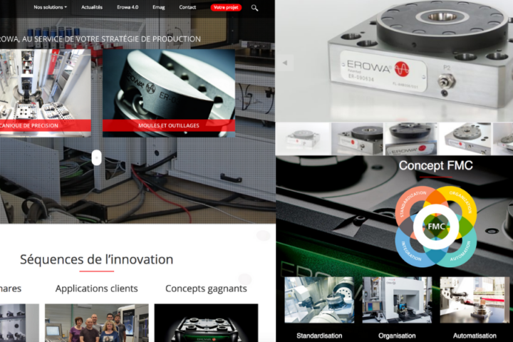 Site Erowa automatisation