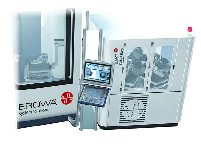 Augmenter la production avec les robots Erowa, ici Robot ERE