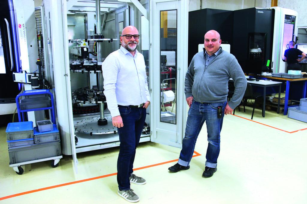 Cap sur la productivité pour l'entreprise Cattin avec les solutions d'automatisation Erowa