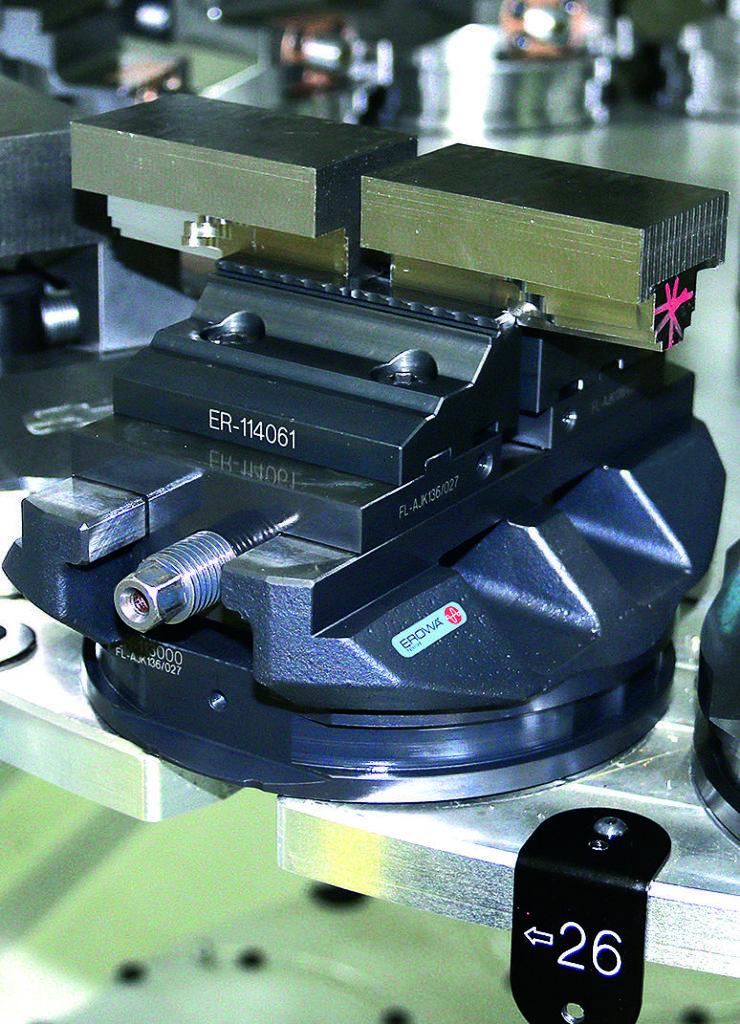 Système de serrage Erowa pour une productivité maximale