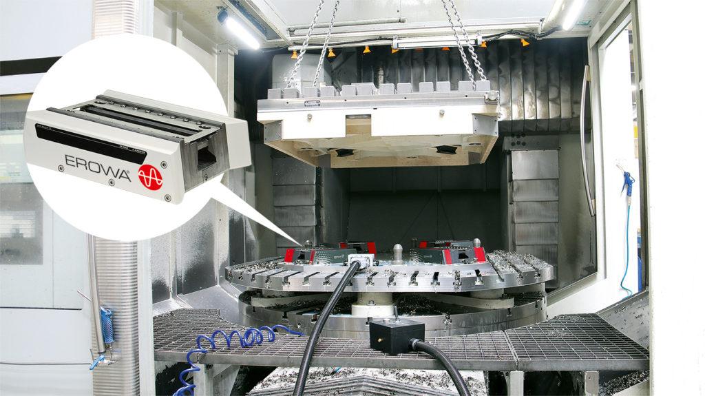 HPC module de repositionnement pour fabrication de pièces lourdes