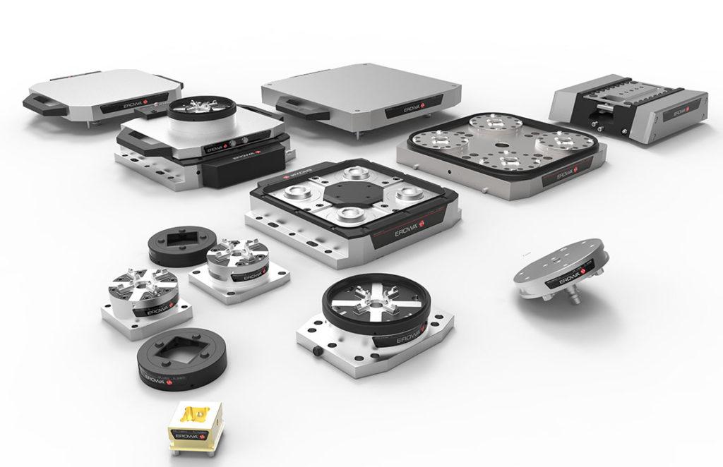 Mandrins Edge Erowa, système flexible augmentant l'agilité de l'outil de production